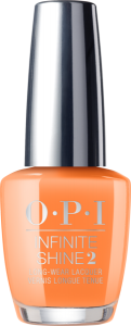 ISLN71 OPI Infinite Shine ORANGE YOU A ROCK STAR?/ Lakier do paznokci 15 ml