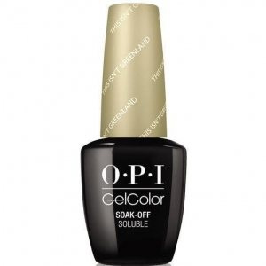 GC I58 OPI GelColor THIS ISN'T GREENLAND/ Żel kolorowy 15 ml