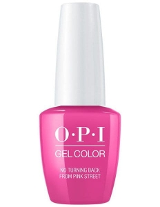 GC L19 OPI GelColor NO TURNING BACK FROM PINK STREET/ Żel kolorowy 15 ml