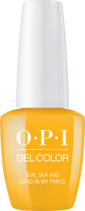 GC L23 OPI GelColor SUN SEA AND SAND IN MY PANTS/ Żel kolorowy 15 ml