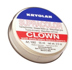 art.1082 Kryolan Supracolor Clown -szminka tłusta poj. 55 ml.