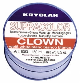 art.1083 Kryolan Supracolor Clown- szminka tłusta poj.150ml.