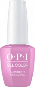 HPK07 OPI GelColor LAVENDARE TO FIND COURAGE/ Żel kolorowy 15 ml