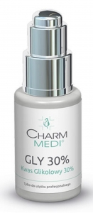 CHARM MEDI Kwas glikolowy 30%/ Gly 30% PH 1.2 30 ml